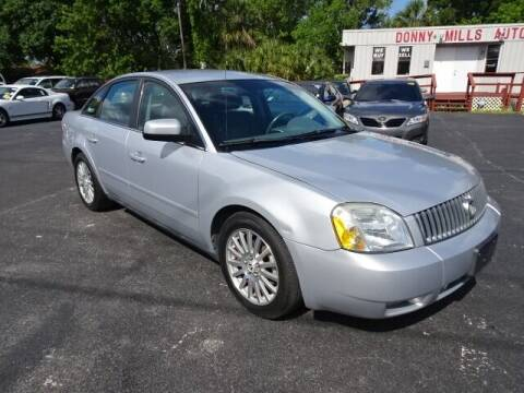 2005 Mercury Montego for sale at DONNY MILLS AUTO SALES in Largo FL