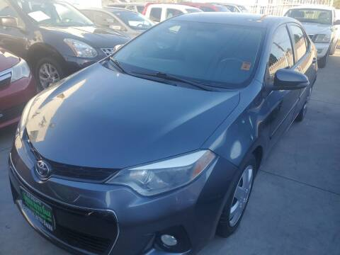 2014 Toyota Corolla for sale at Express Auto Sales in Los Angeles CA
