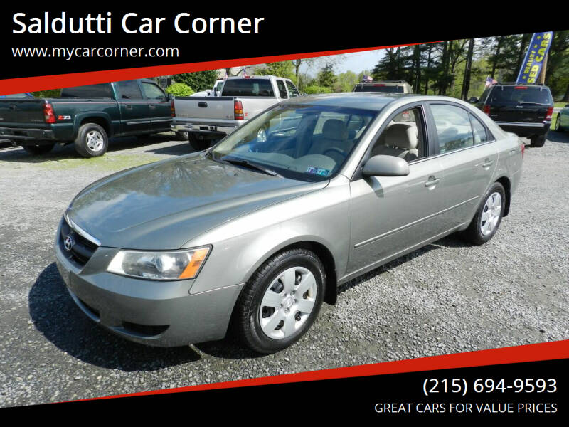2007 Hyundai Sonata for sale at Saldutti Car Corner in Gilbertsville PA