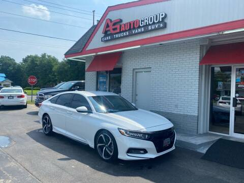2018 Honda Accord for sale at AG AUTOGROUP in Vineland NJ