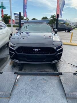 2020 Ford Mustang for sale at Navarro Auto Motors in Hialeah FL