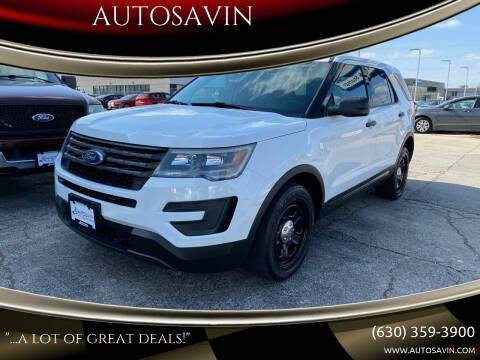 2016 Ford Explorer for sale at AUTOSAVIN in Elmhurst IL