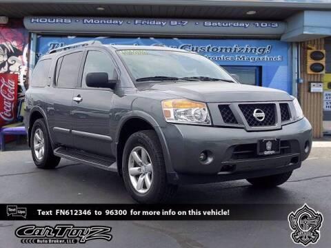 2015 Nissan Armada for sale at Distinctive Car Toyz in Pleasantville NJ