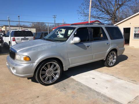 2001 Lincoln Navigator for sale at D & M Vehicle LLC in Oklahoma City OK