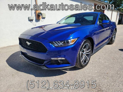 2016 Ford Mustang for sale at ADK AUTO SALES LLC in Austin TX