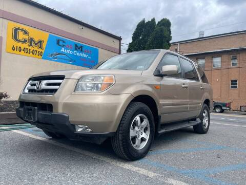 2007 Honda Pilot for sale at Car Mart Auto Center II, LLC in Allentown PA