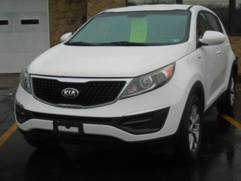 2016 Kia Sportage for sale at Rogos Auto Sales in Brockway PA