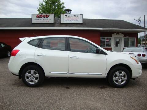 2012 Nissan Rogue for sale at G and G AUTO SALES in Merrill WI