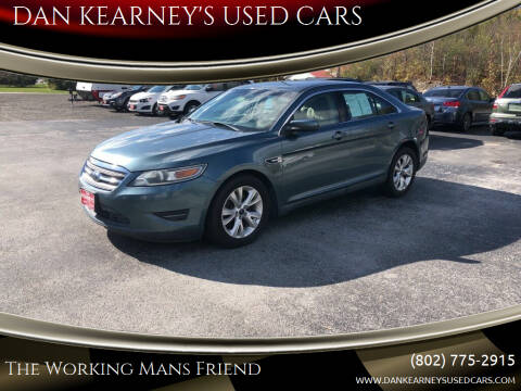 2010 Ford Taurus for sale at DAN KEARNEY'S USED CARS in Center Rutland VT