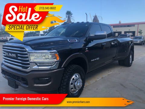 2019 RAM Ram Pickup 3500 for sale at Premier Foreign Domestic Cars in Houston TX