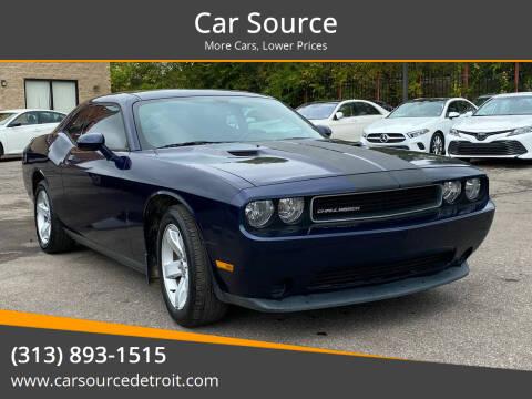2014 Dodge Challenger for sale at Car Source in Detroit MI
