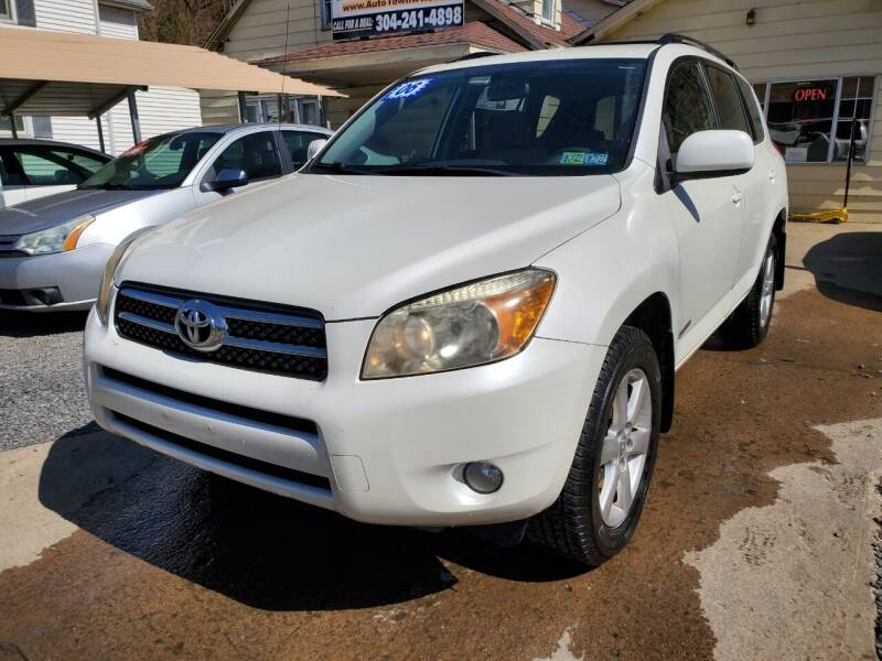 2006 Toyota RAV4 for sale at Auto Town Used Cars in Morgantown WV