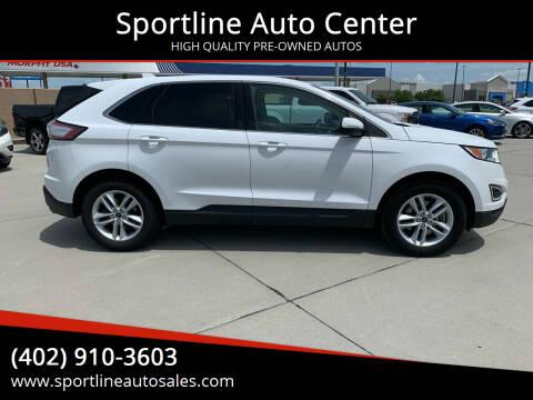 2015 Ford Edge for sale at Sportline Auto Center in Columbus NE
