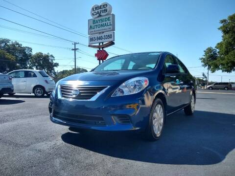 2012 Nissan Versa for sale at BAYSIDE AUTOMALL in Lakeland FL