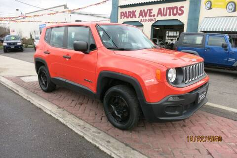 2016 Jeep Renegade for sale at PARK AVENUE AUTOS in Collingswood NJ