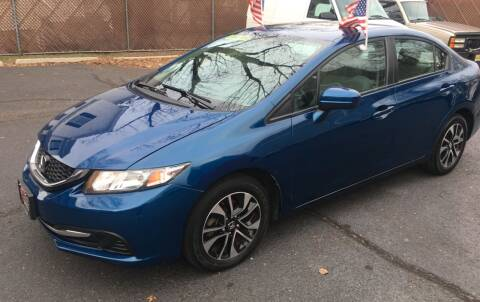 2014 Honda Civic for sale at Super Auto Group in Somerville NJ