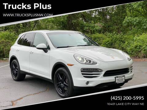 2014 Porsche Cayenne for sale at Trucks Plus in Seattle WA