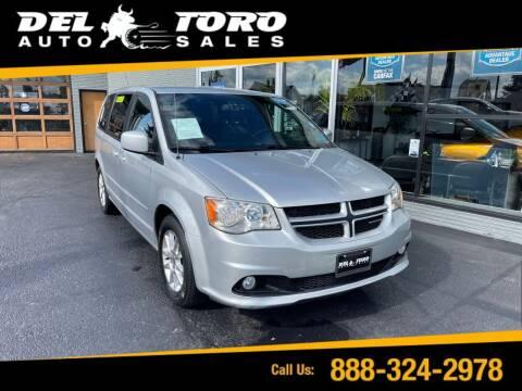 2012 Dodge Grand Caravan for sale at DEL TORO AUTO SALES in Auburn WA