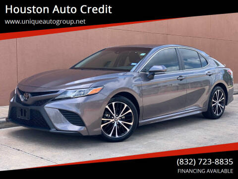 2018 Toyota Camry for sale at Houston Auto Credit in Houston TX