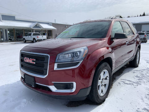 2015 GMC Acadia for sale at Blake Hollenbeck Auto Sales in Greenville MI