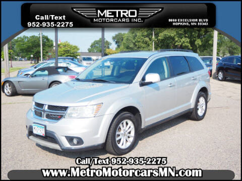 2013 Dodge Journey for sale at Metro Motorcars Inc in Hopkins MN