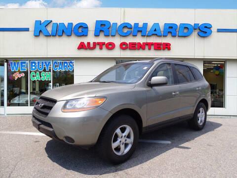 2008 Hyundai Santa Fe for sale at KING RICHARDS AUTO CENTER in East Providence RI