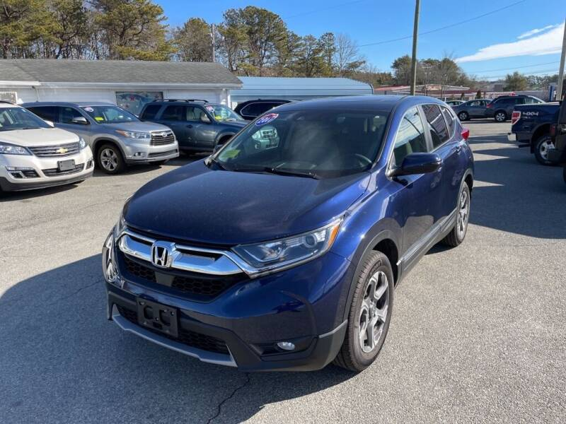 2017 Honda CR-V for sale at U FIRST AUTO SALES LLC in East Wareham MA