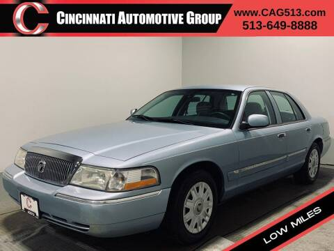 2004 Mercury Grand Marquis for sale at Cincinnati Automotive Group in Lebanon OH