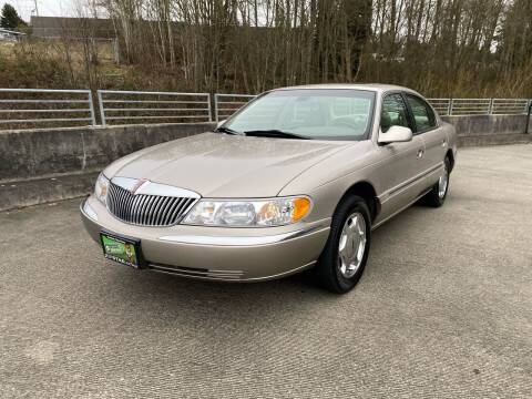 1999 Lincoln Continental for sale at Zipstar Auto Sales in Lynnwood WA