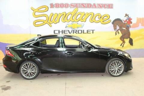 2014 Lexus IS 250 for sale at Sundance Chevrolet in Grand Ledge MI