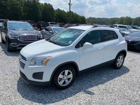 2016 Chevrolet Trax for sale at Billy Ballew Motorsports in Dawsonville GA