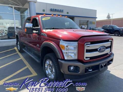 2016 Ford F-350 Super Duty for sale at KEN BARRETT CHEVROLET CADILLAC in Batavia NY