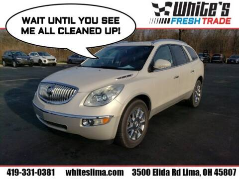 2011 Buick Enclave for sale at White's Honda Toyota of Lima in Lima OH
