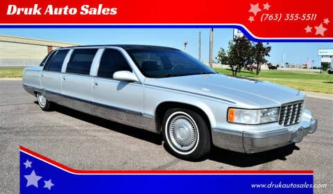 1995 Cadillac Fleetwood for sale at Druk Auto Sales in Ramsey MN