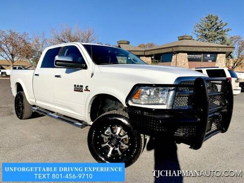 2015 RAM Ram Pickup 2500 for sale at TJ Chapman Auto in Salt Lake City UT