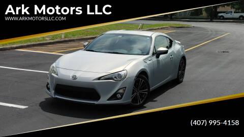 2013 Scion FR-S for sale at Ark Motors LLC in Winter Springs FL