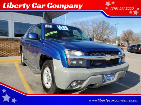 2003 Chevrolet Avalanche for sale at Liberty Car Company in Waterloo IA
