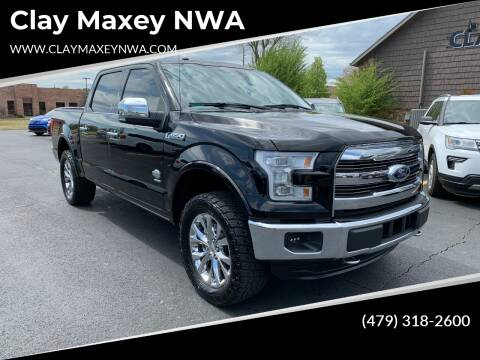 2016 Ford F-150 for sale at Clay Maxey NWA in Springdale AR