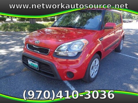 2013 Kia Soul for sale at Network Auto Source in Loveland CO