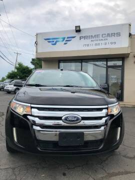 2013 Ford Edge for sale at Prime Cars Auto Sales in Saugus MA