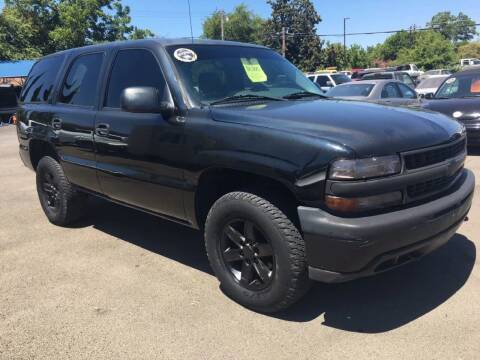 2005 Chevrolet Tahoe for sale at Dealer Finance Auto Center LLC in Sacramento CA