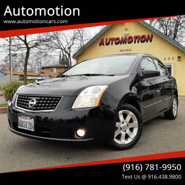 2008 Nissan Sentra for sale at Automotion in Roseville CA