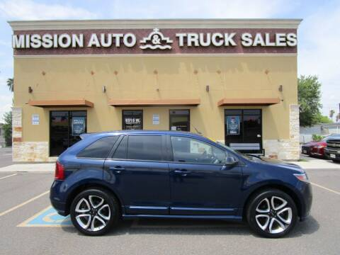 2012 Ford Edge for sale at Mission Auto & Truck Sales, Inc. in Mission TX