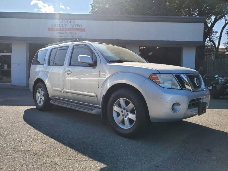2012 Nissan Pathfinder for sale at Landes Family Auto Sales in Attleboro MA