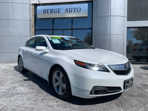 2012 Acura TL for sale at Berge Auto in Orem UT