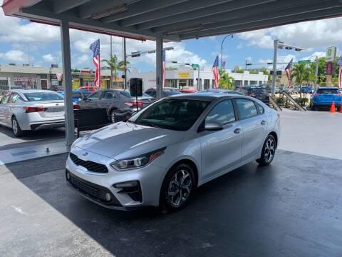 2019 Kia Forte for sale at American Auto Sales in Hialeah FL