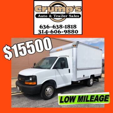 2012 Chevrolet Express Cutaway for sale at CRUMP'S AUTO & TRAILER SALES in Crystal City MO