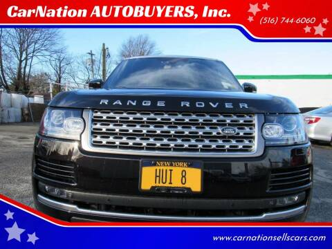2013 Land Rover Range Rover for sale at CarNation AUTOBUYERS Inc. in Rockville Centre NY