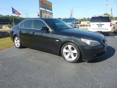 2007 BMW 5 Series for sale at Roswell Auto Imports in Austell GA