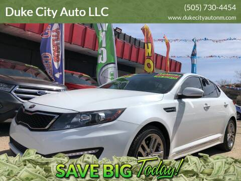 2013 Kia Optima for sale at Duke City Auto LLC in Gallup NM